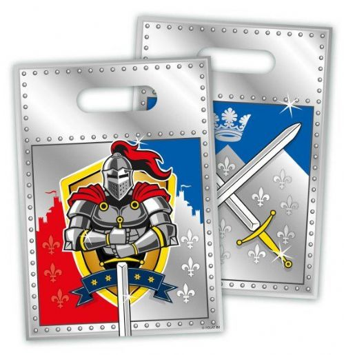 Knights Party Loot Bags 8's
